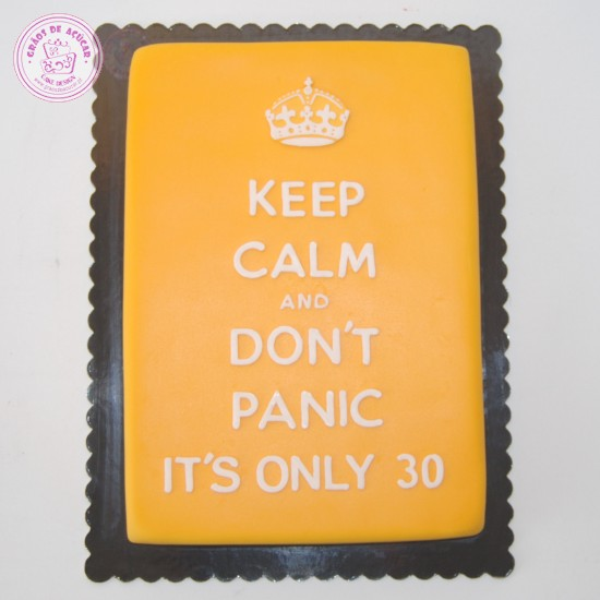 Keep Calm Gr 227 Os De A 231 250 Car Bolos Decorados Cake Design
