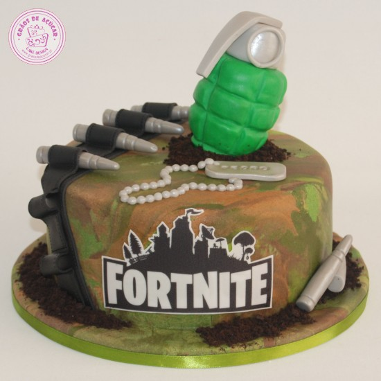Fortnite Gr 227 Os De A 231 250 Car Bolos Decorados Cake Design
