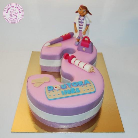Doutora Brinquedos - Nº - Grãos de Açúcar - Bolos decorados - Cake ... 26863c624b