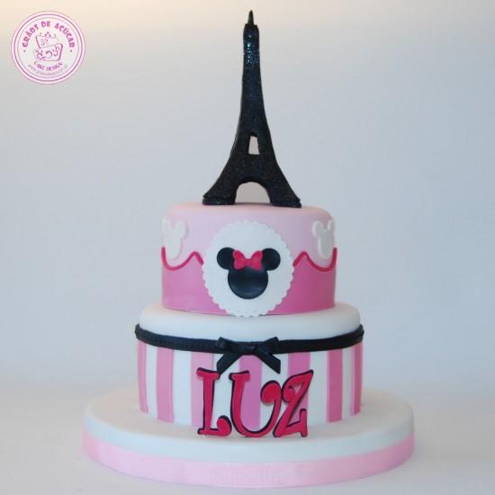 minnie paris - gr u00e3os de a u00e7 u00facar - bolos decorados