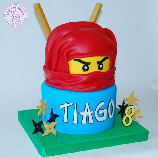Bolo Aniversario Ninjago