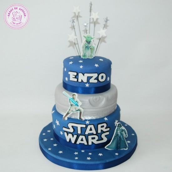 Star Wars - Grãos de Açúcar - Bolos decorados - Cake Design 6237725f5c