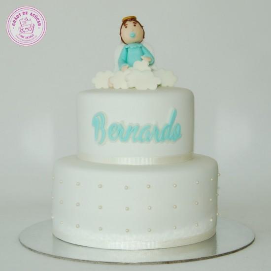 Beb E Nuvens Gros De Acar Bolos Decorados Cake
